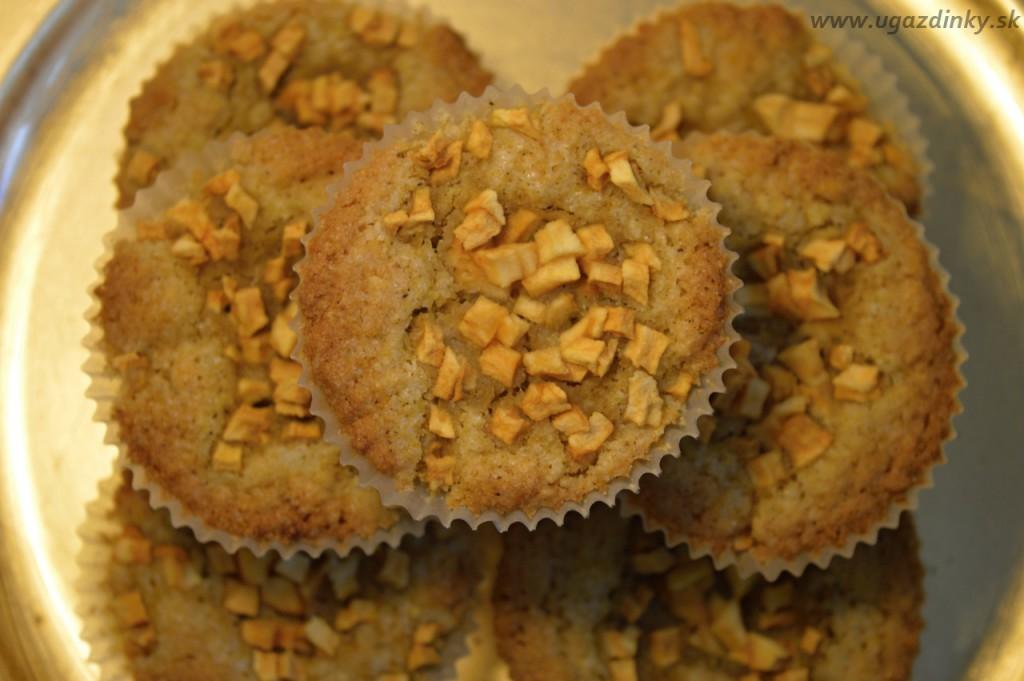Bezlepkové jablkové mafiny so sladkým drievkom