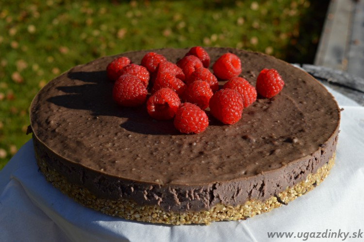 Raw Acaí torta