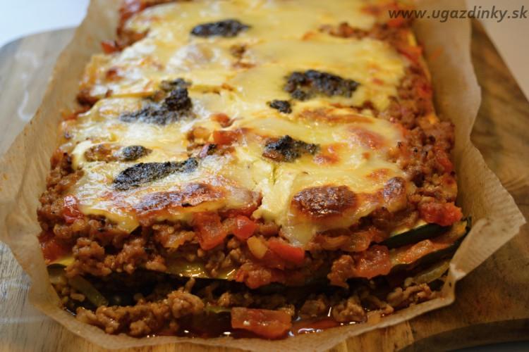 Cuketové lasagne bez lepku