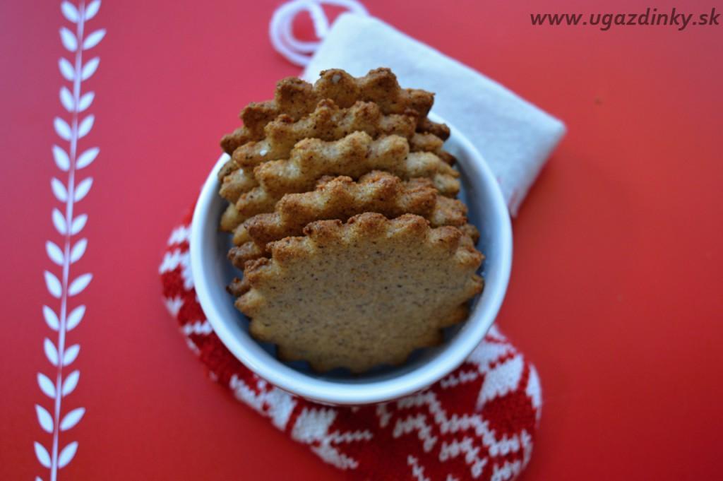 Škoricovo - orechové slniečka