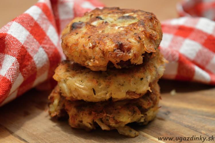 Jednoduché zemiakovo – kapustové placky bez lepku