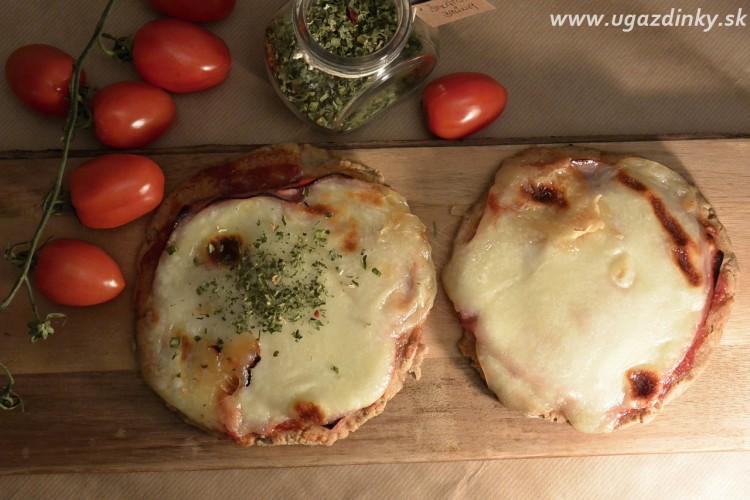 Pizzové koláčiky z prirodzene bezlepkových múk