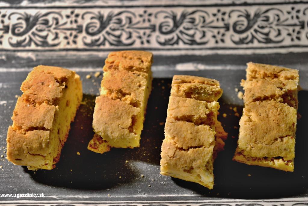 Bezlepkové talianske sušienky s jablkovým pyré