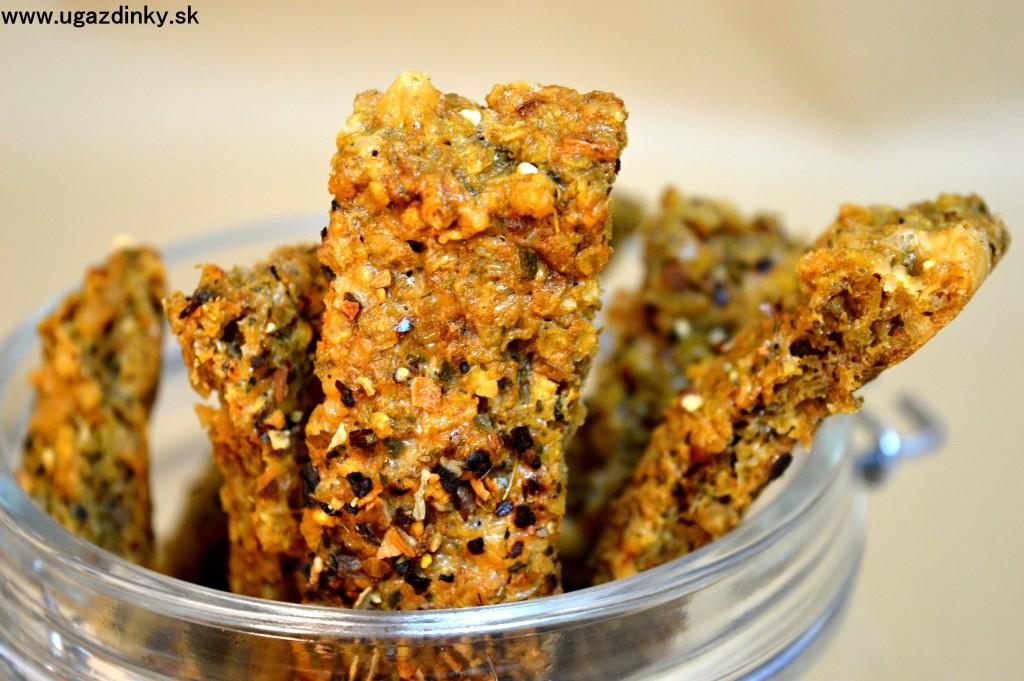 Bezlepkové tyčinky z quinoa vločiek
