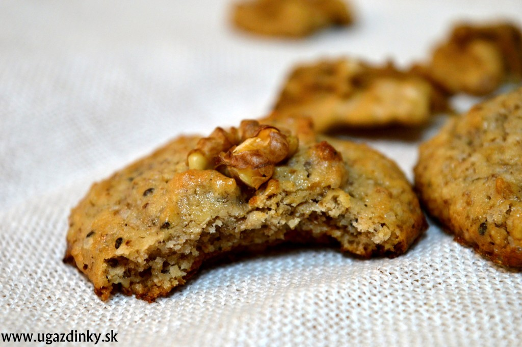 Bezlepkové orechové koláčiky