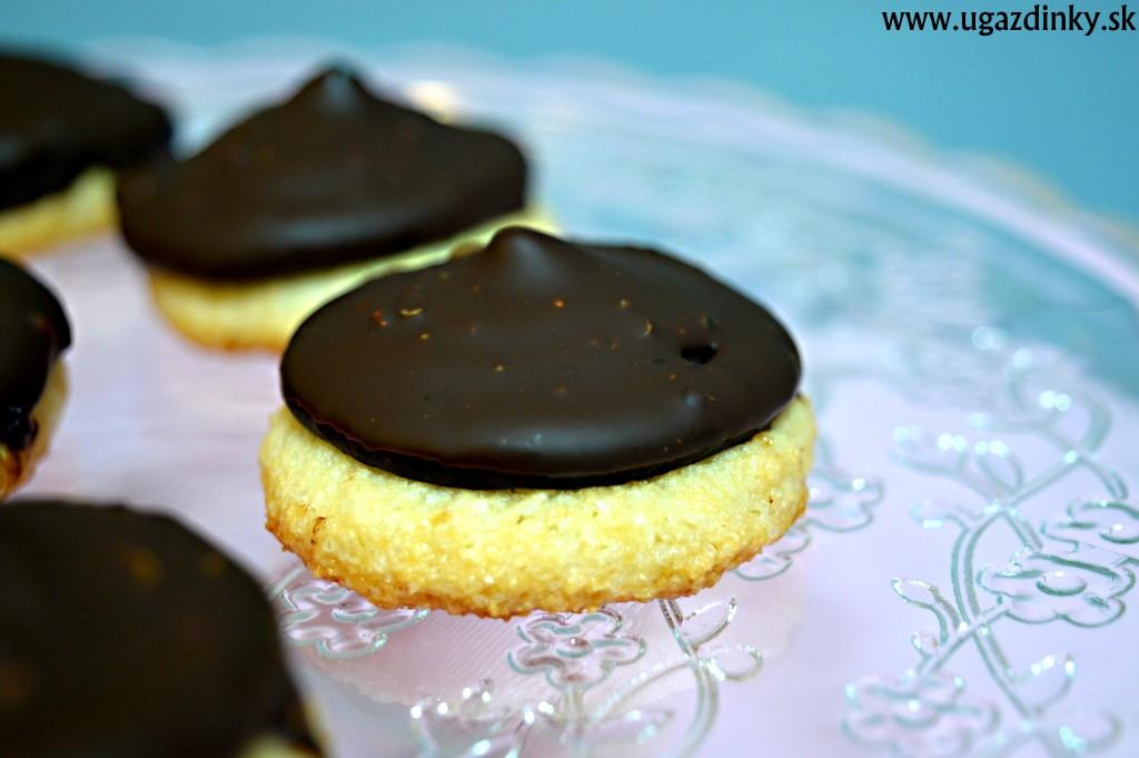 Krémové čokoládové sušienky bez lepku