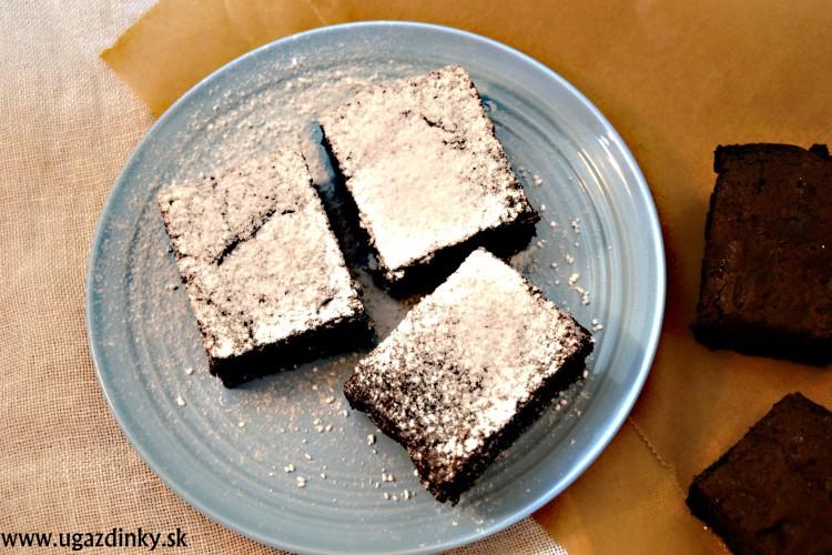 Čokoládové brownies bez múky