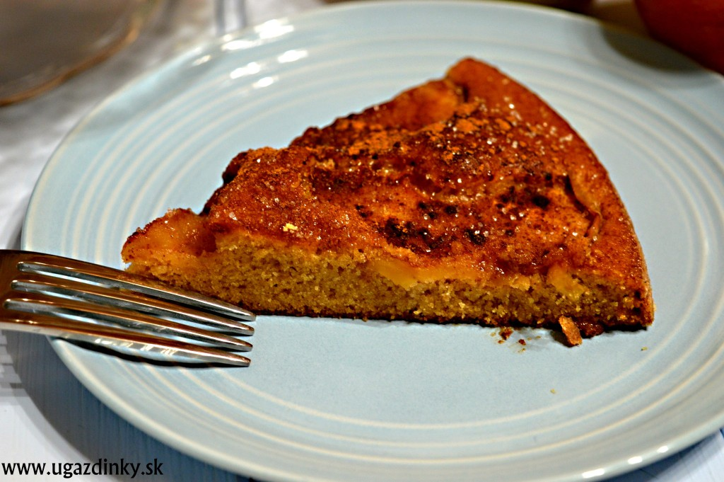 Jednoduchý jablkový koláč bez lepku