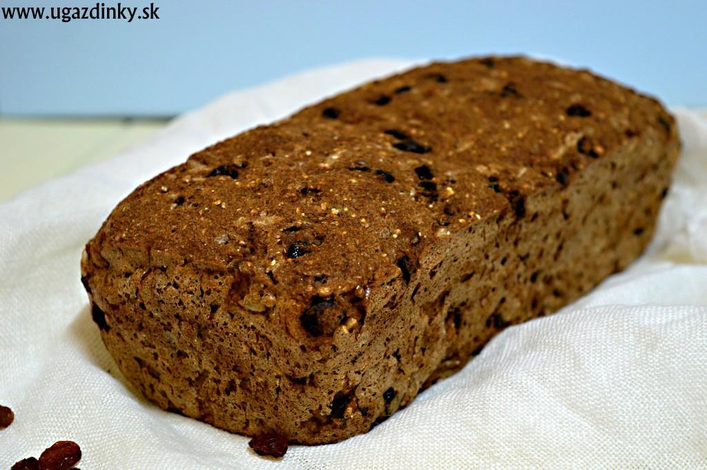 Celozrnný chlieb bez lepku
