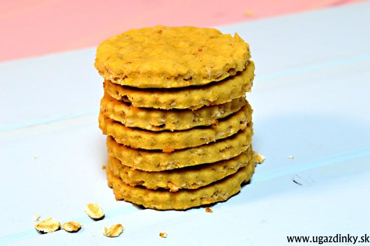 Bezlepkové ovsené sušienky