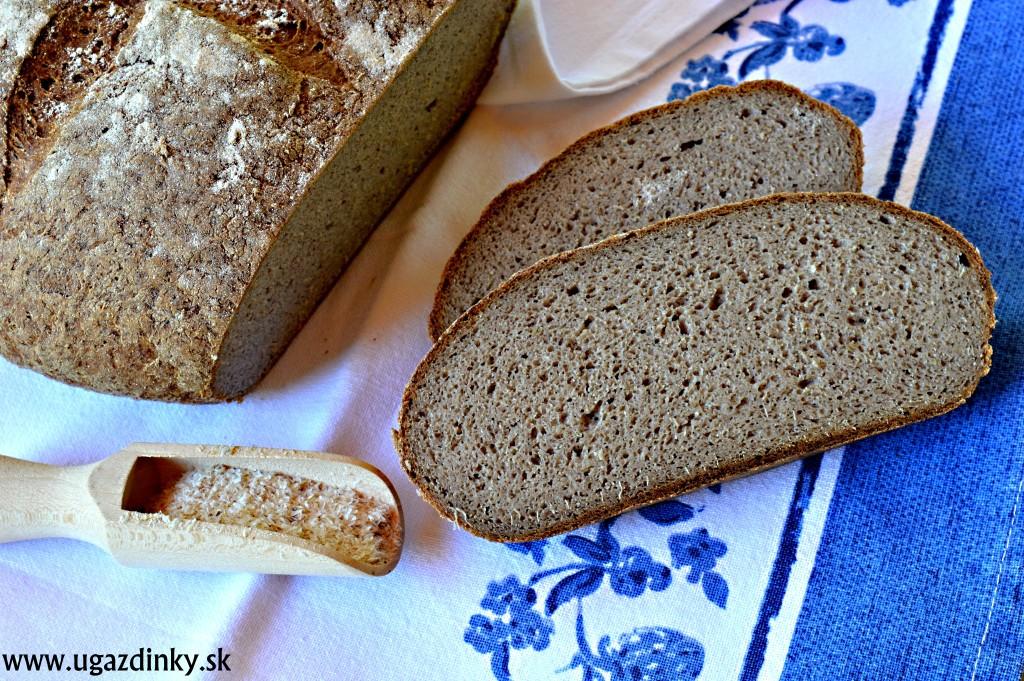Sirupový chlieb bez lepku