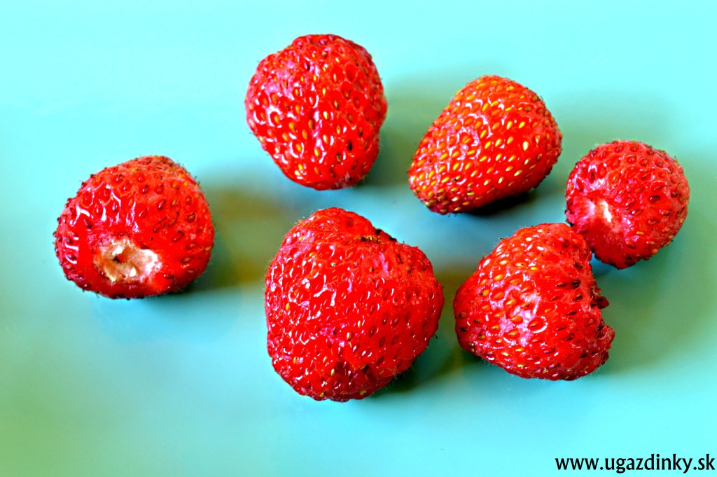 Bezlepkové jahodové nanuky