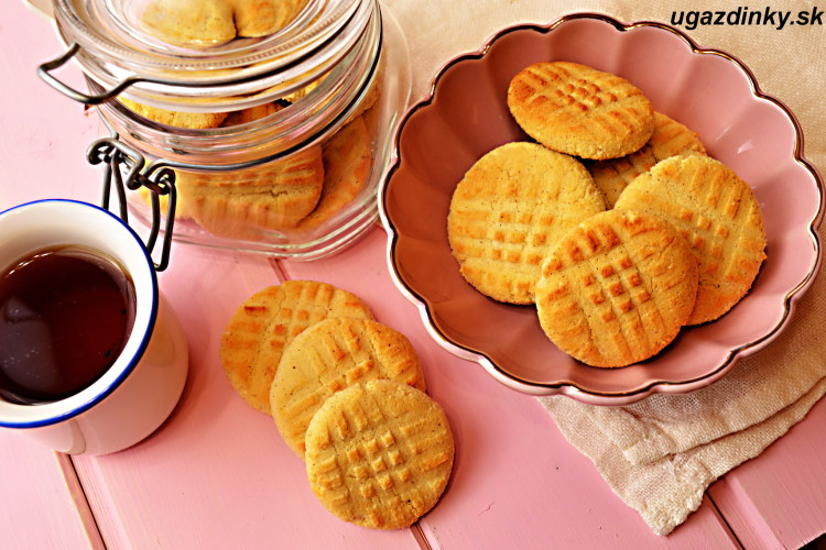 Bezlepkové tekvicové sušienky