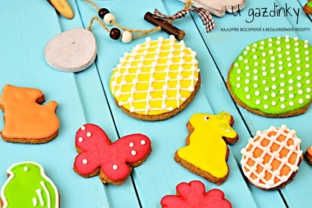 Veľkonočné medovníkové sušienky bez lepku
