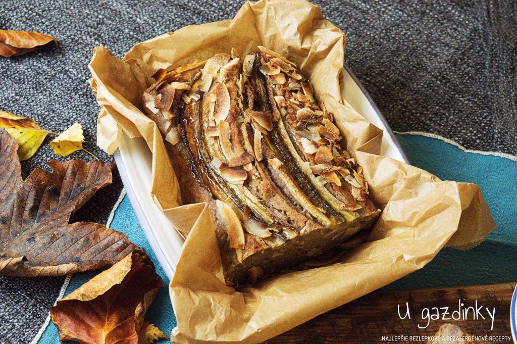 Bezlepkový banánový chlieb