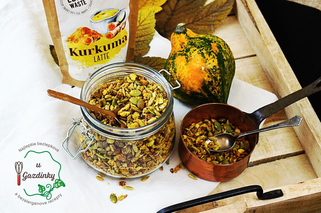 Granola s kurkumou